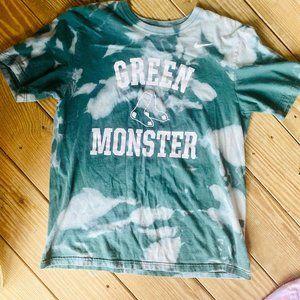 Nike Boston Redsox Bleach Green Monster Tee